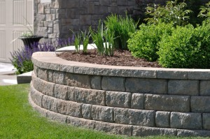 Retaining Wall in Mooresville