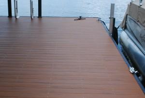 new vinyl dock