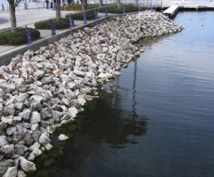 Riprap in South Carolina