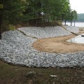 Shoreline Stabilization on Lake Norman